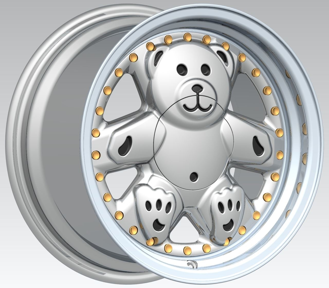Picture of FELGENWERKS RETRO BEAR V2 15X8