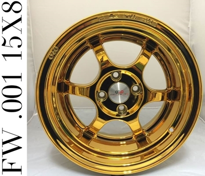 Picture of FW .001 24K DUBAI GOLD CHROME 15""