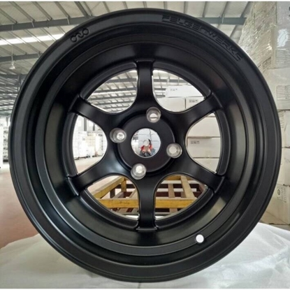 Picture of FW .001 SATIN BLACK 15x10.5